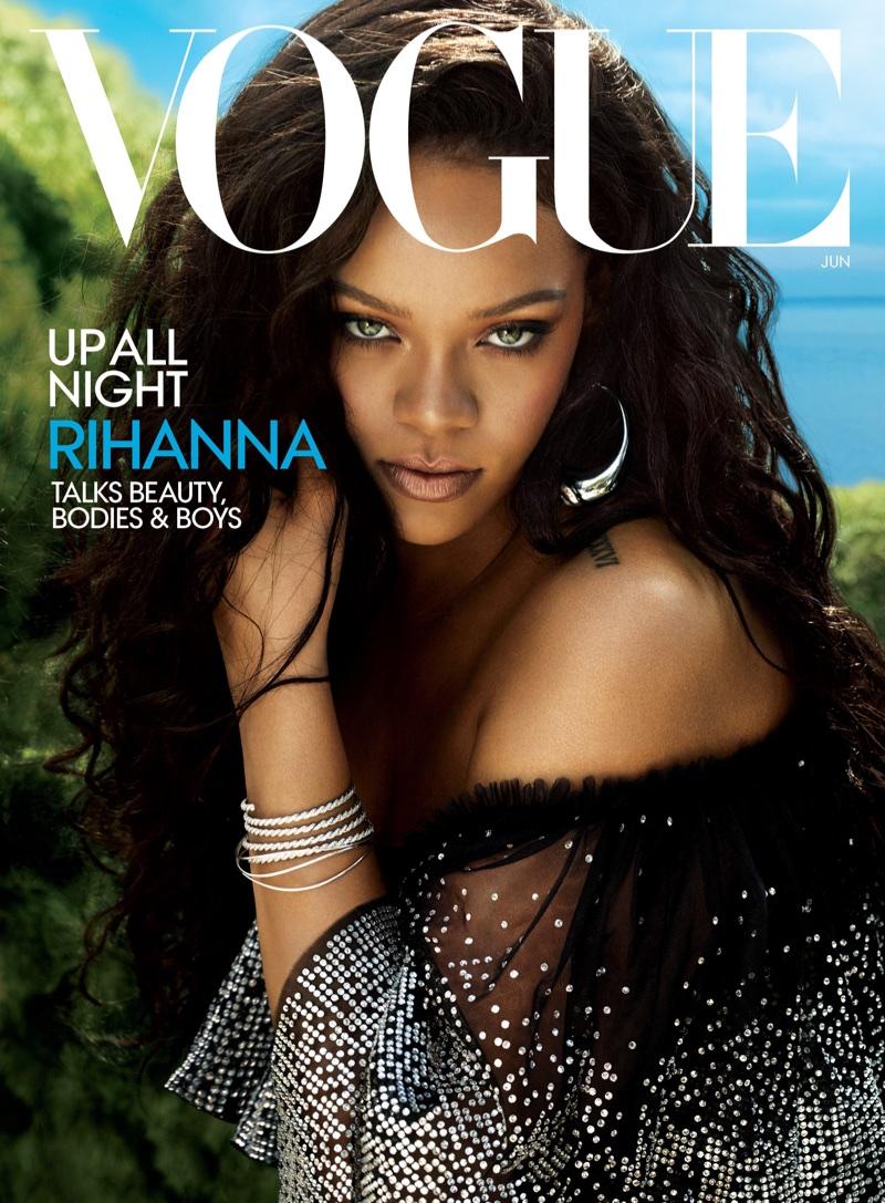 Rihanna on Vogue US June 2018 Cover