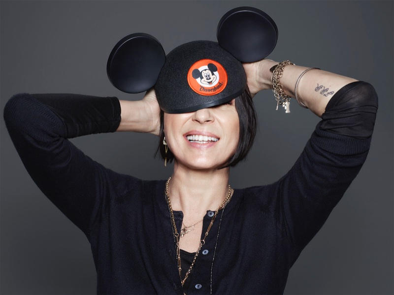 Sadie Frost stars in Mickey Mouse & Me book. Photo: Rankin