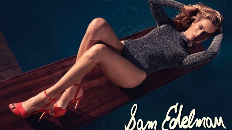 Carolyn Murphy Soaks Up the Sun in Sam Edelman's Spring 2018 Campaign
