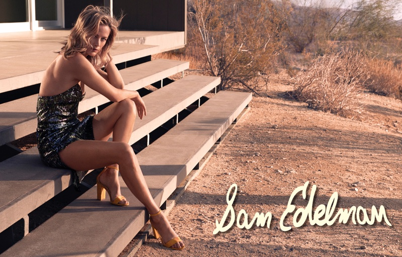 Sam Edelman enlists Carolyn Murphy for its spring-summer 2018 campaign