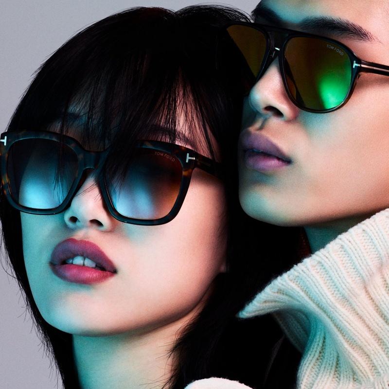 Sora Choi and Li Yufeng star in Tom Ford Eyewear's 2018 digital campaign