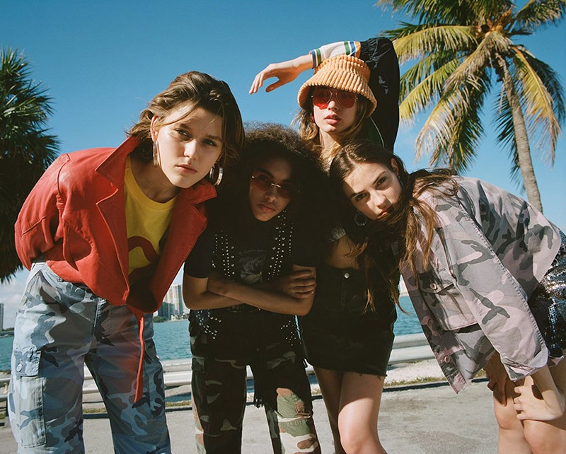 Topshop launches high summer 2018 campaign
