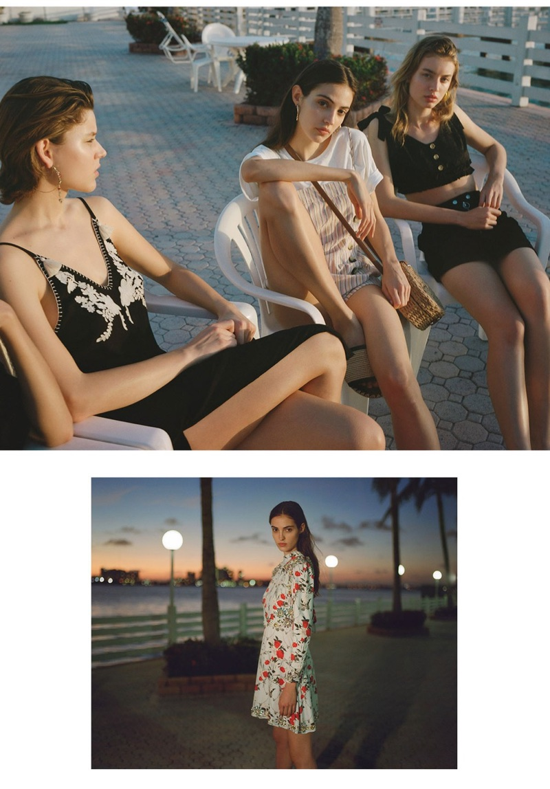 Topshop features beach style in High Summer 2018 campaign