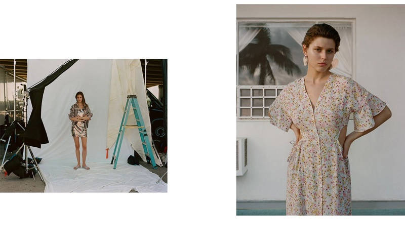 An image from Topshop's High Summer 2018 advertising campaign