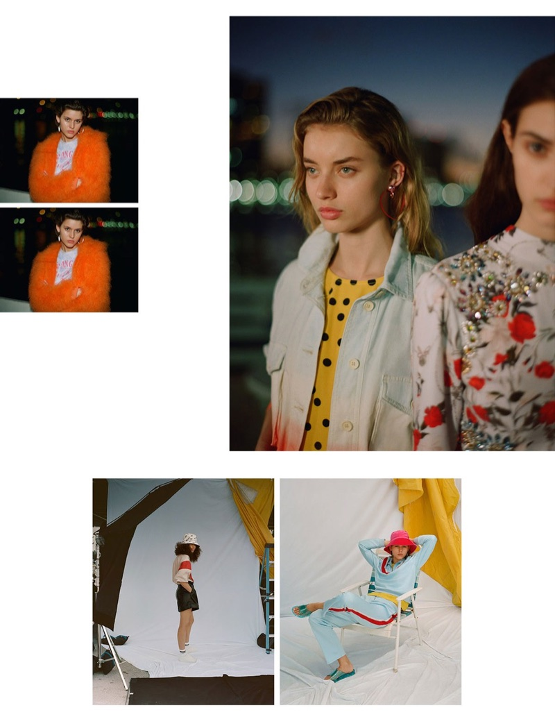 Photo from Topshop's High Summer 2018 campaign