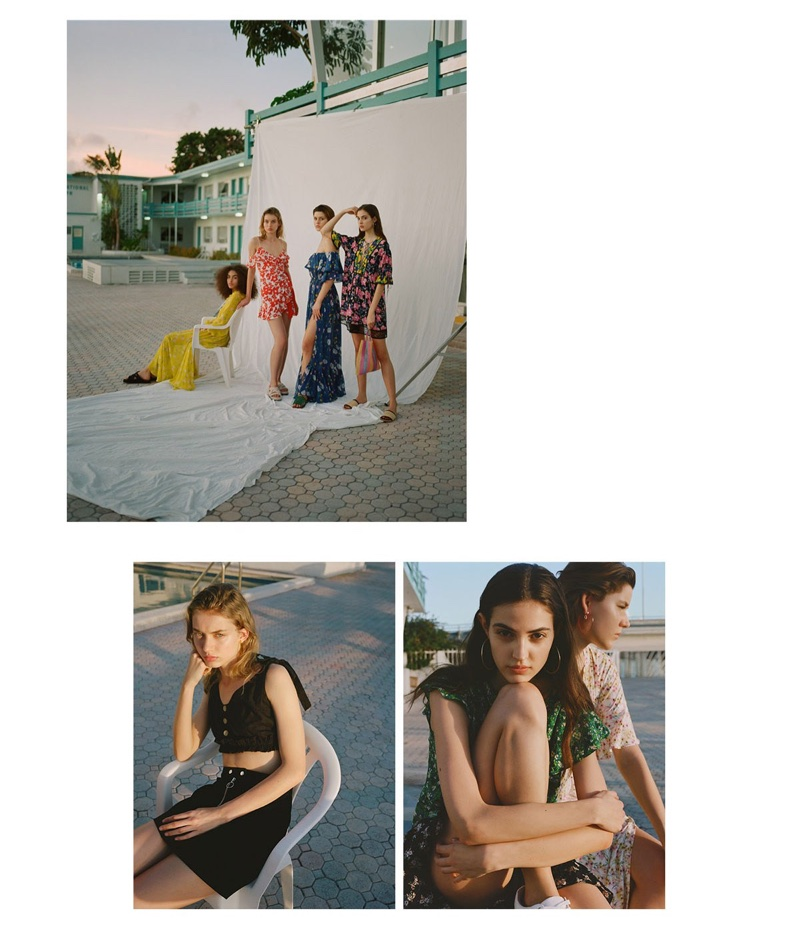 Theo Wenner photographs Topshop's High Summer 2018 campaign