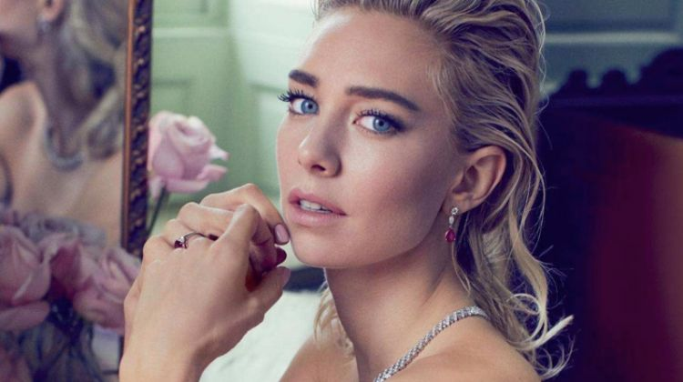 Vanessa Kirby Stuns in Haute Couture Gowns for Harper's Bazaar UK