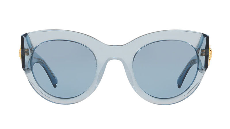 Versace Clear Blue Sunglasses $295