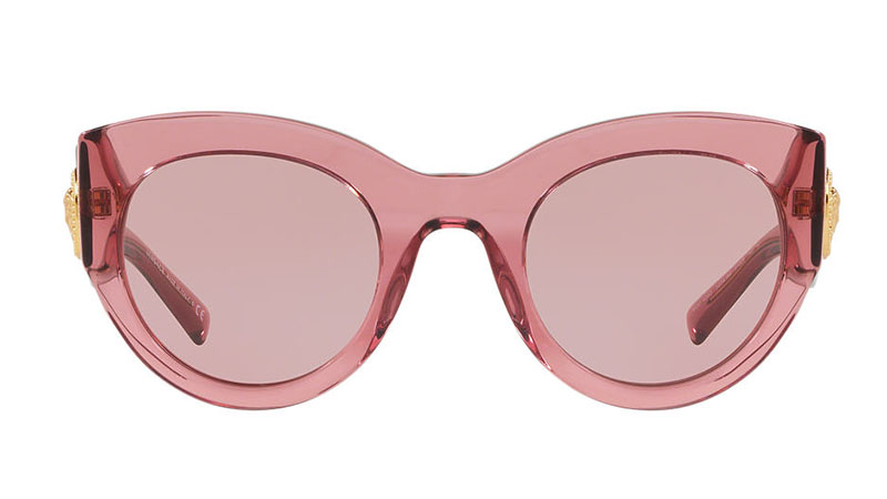 ad60f18679f3 Versace Transparent Pink Sunglasses  295