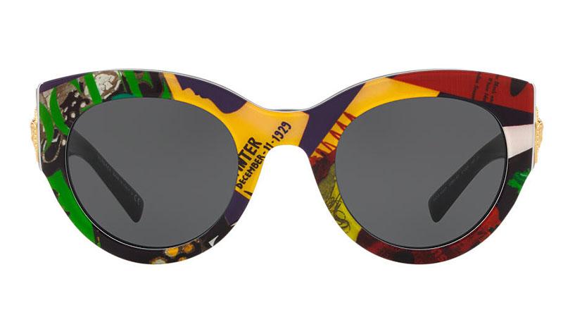 VERSACE Vogue print sunglasses IBIq6Y2i