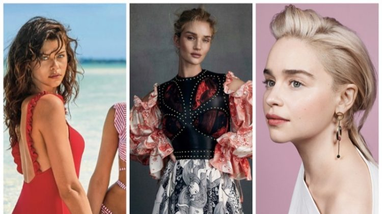 Week in Review | Rosie Huntington-Whiteley's New Cover, Calzedonia Swim, Emilia Clarke for Vanity Fair + More