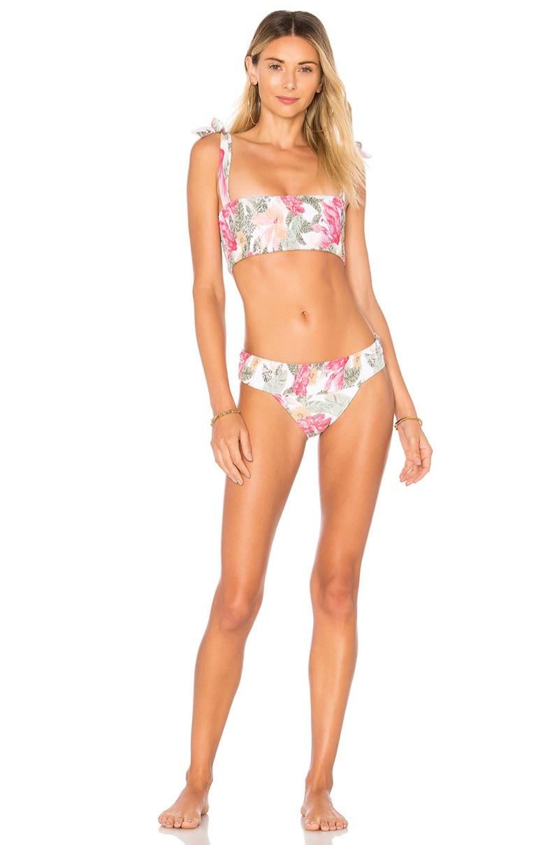 Zulu & Zephyr x REVOLVE Canopy Bikini Top $100 and Bikini Bottom $90