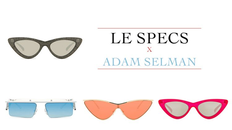 7 Cool Sunglasses From Le Specs x Adam Selman's Collaboration