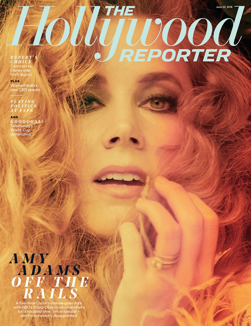 Amy Adams on The Hollywood Reporter June 20th, 2018 Cover