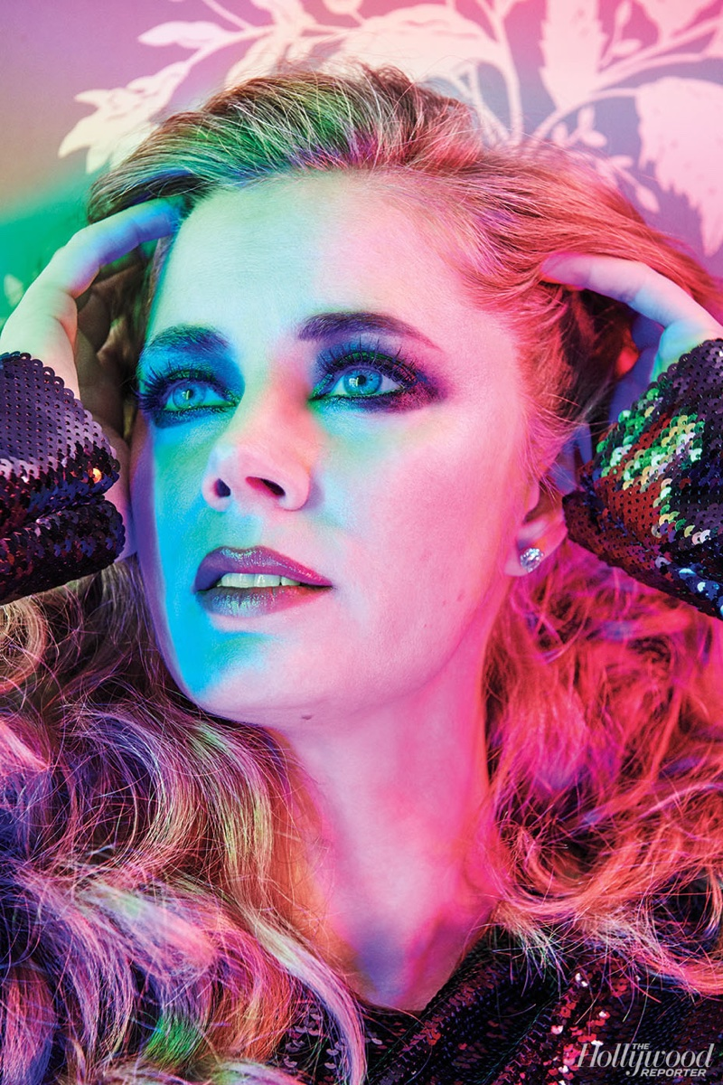 Ready for her closeup, Amy Adams wears Tom Ford dress and Neil Lane jewelry