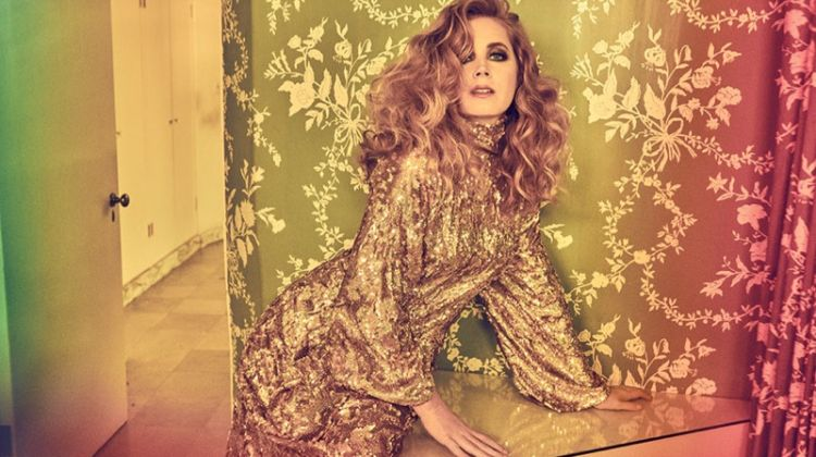 Amy Adams Turns Up the Glam Factor for The Hollywood Reporter