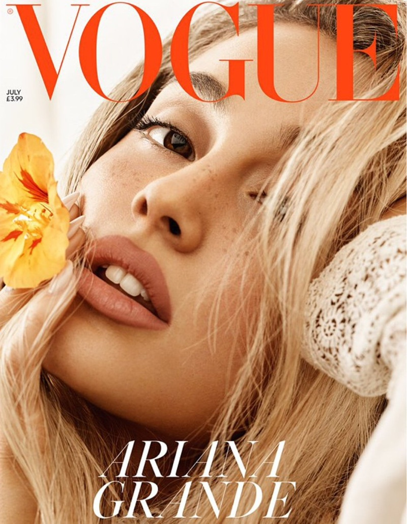 Ariana Grande | Vogue UK | 2018 Cover | Hairstyle - photo#4
