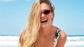 Bar Refaeli Takes On Summer Fashion for Cosmopolitan Spain