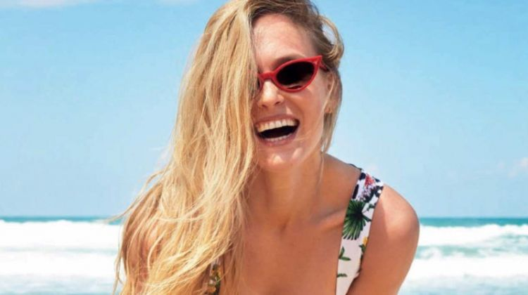 Bar Refaeli Takes On Summer Fashion for Cosmopolitan Spain