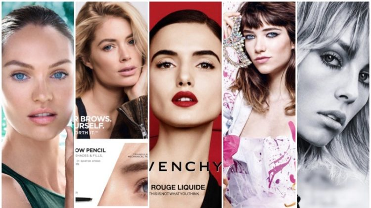 Discover recent beauty campaigns from Biotherm, Givenchy, Juicy Couture and more