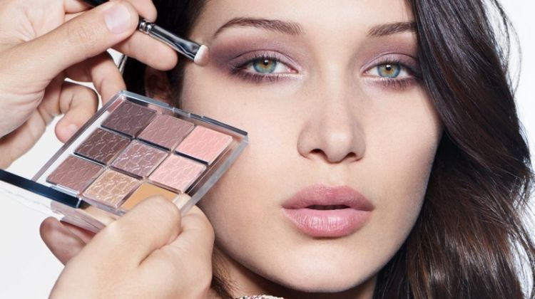 Bella Hadid stars in Dior Backstage beauty campaign