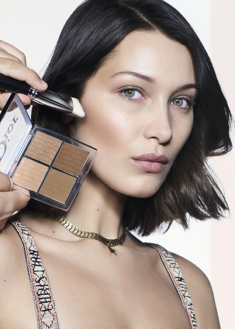 Ready for her closeup, Bella Hadid poses for Dior Backstage campaign