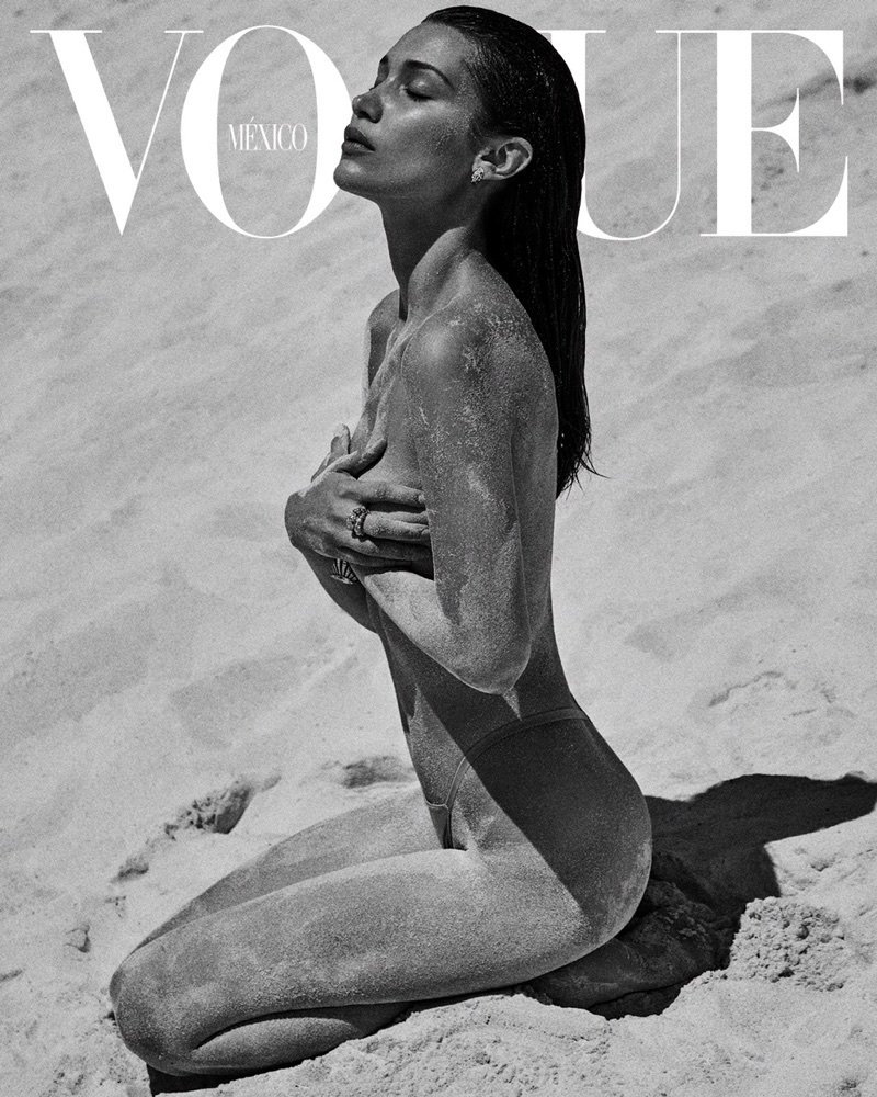 Bella Hadid Turns Up the Heat for Vogue Mexico