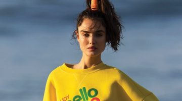 Blanca Padilla Poses in Sporty Beach Styles for ELLE