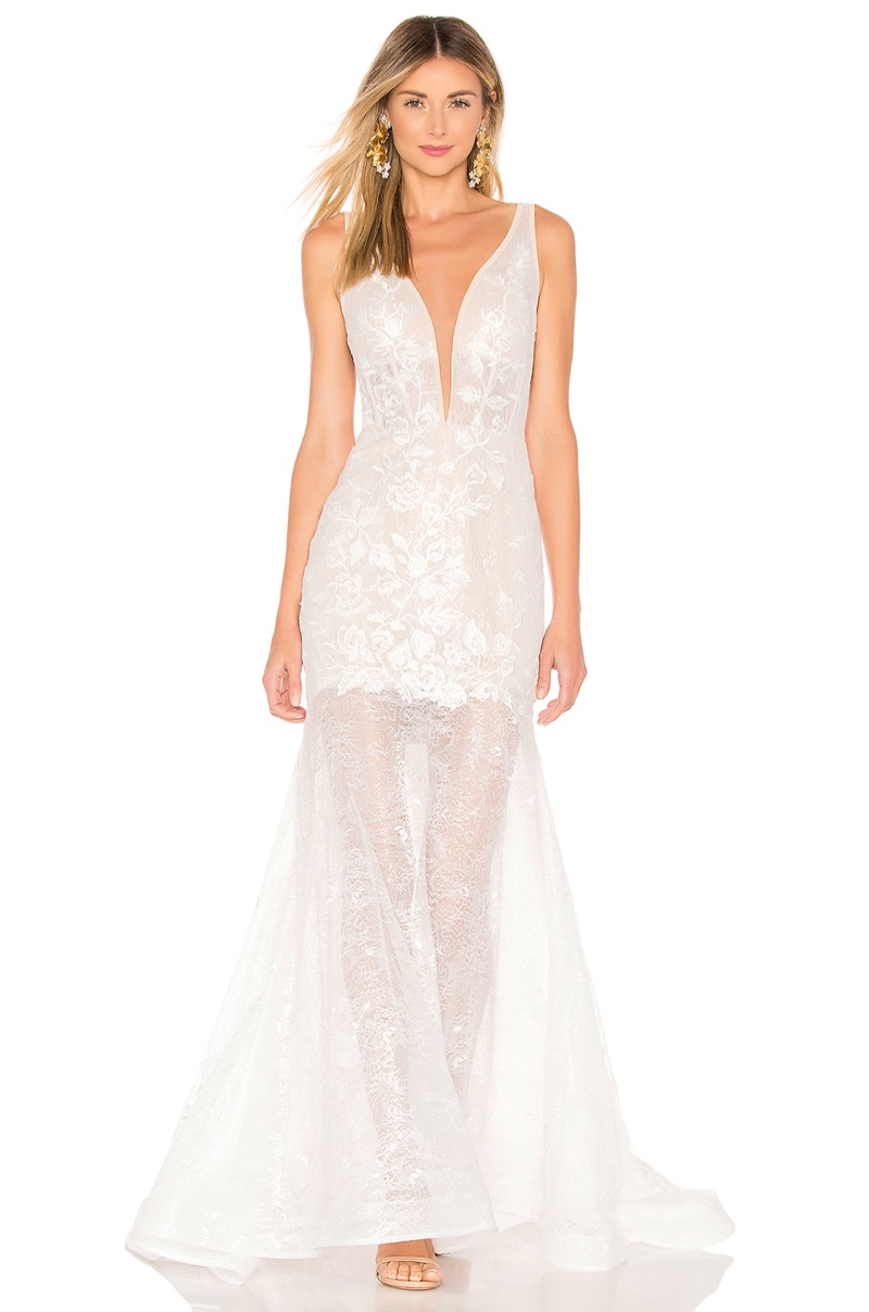 Bronx and Banco Estelle Gown $1,210