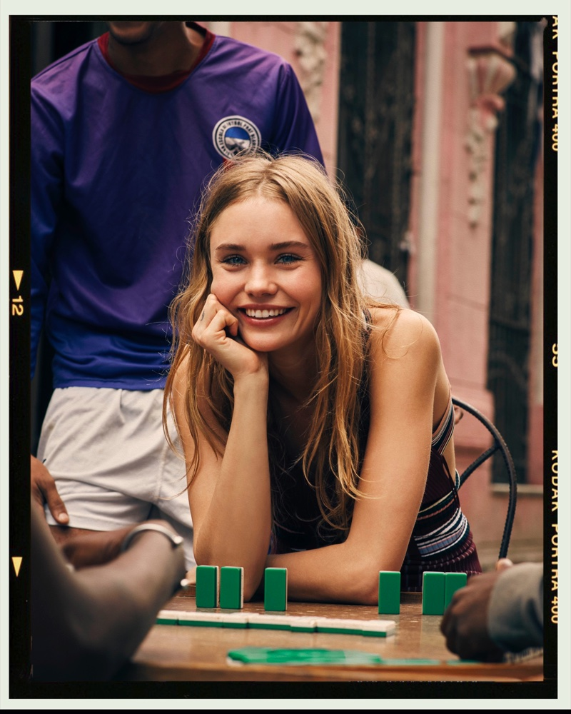 Brooke Perry Wears Chic Looks in Havana for ELLE Poland