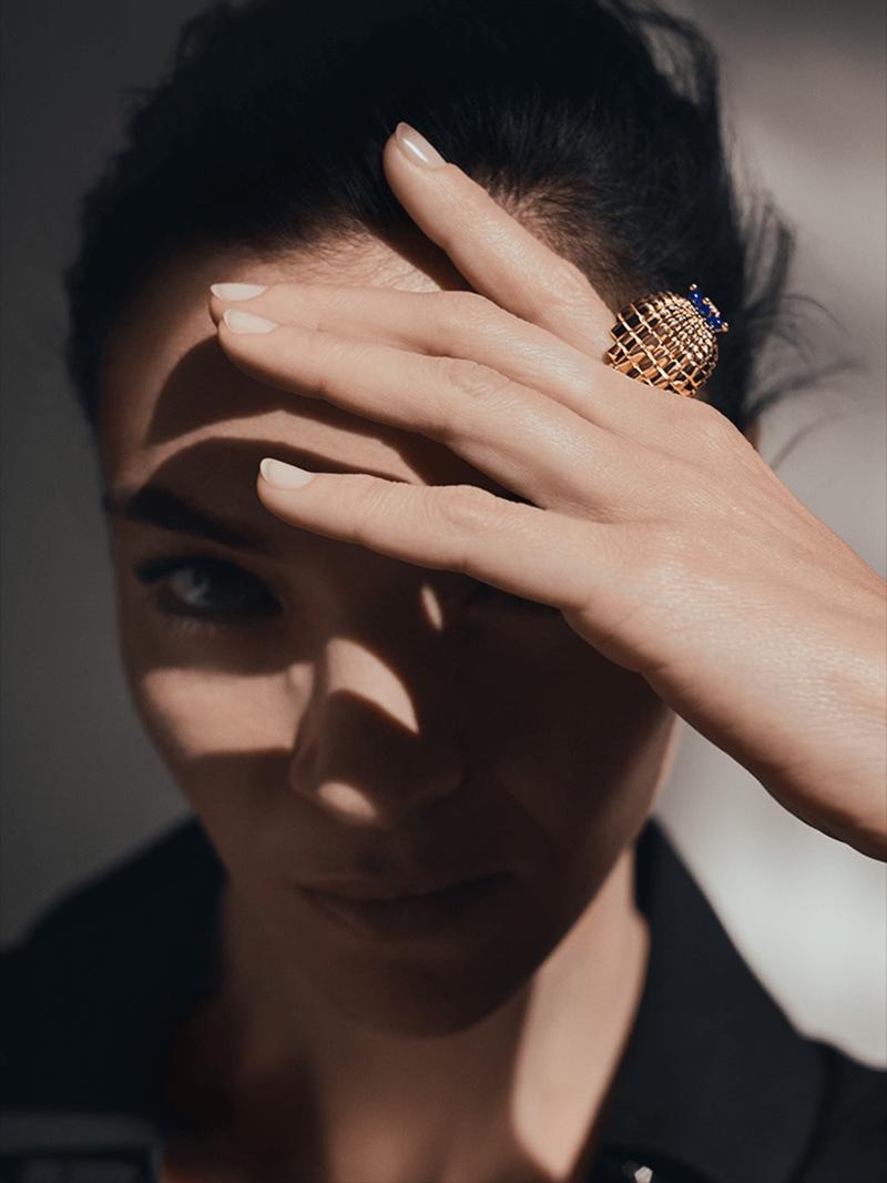 Cartier enlists Mariacarla Boscono for Cactus de Cartier jewelry campaign