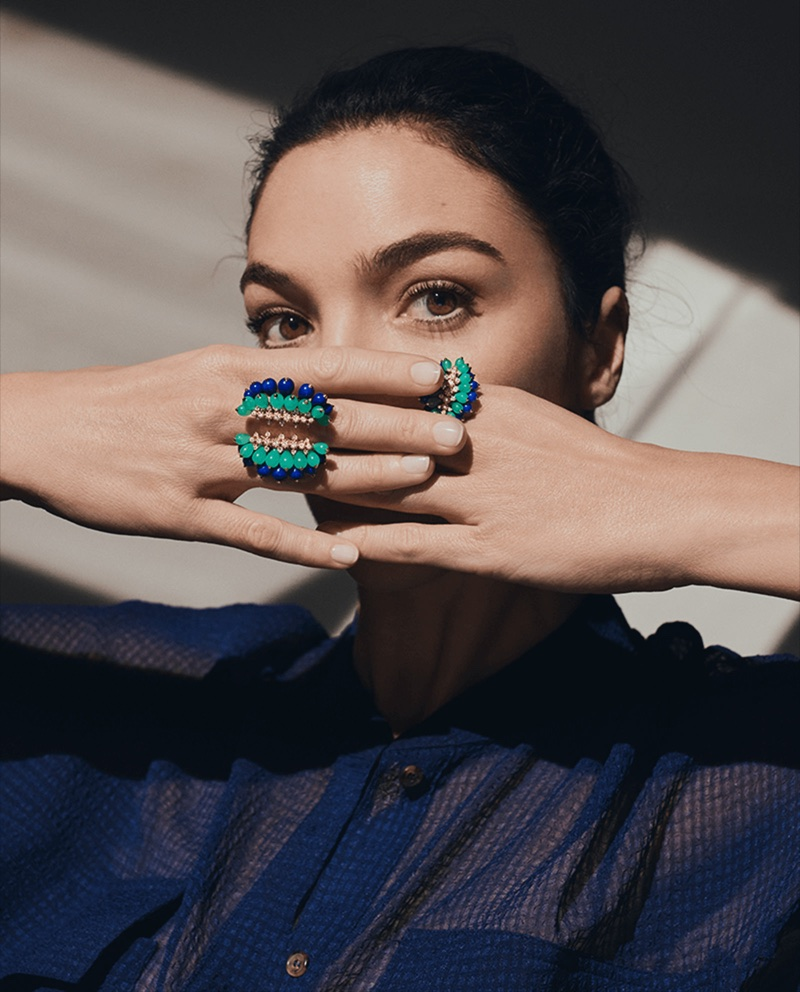 An image from Cactus de Cartier jewelry campaign