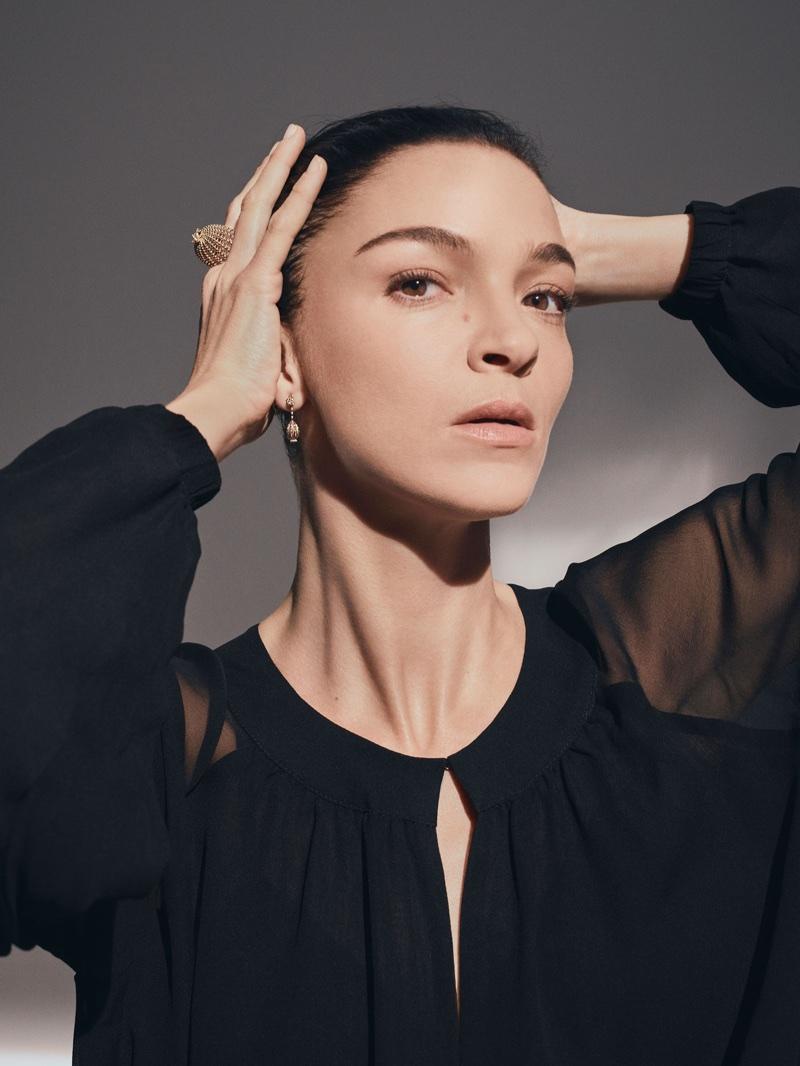 Ready for her closeup, Mariacarla Boscono fronts Cactus de Cartier campaign