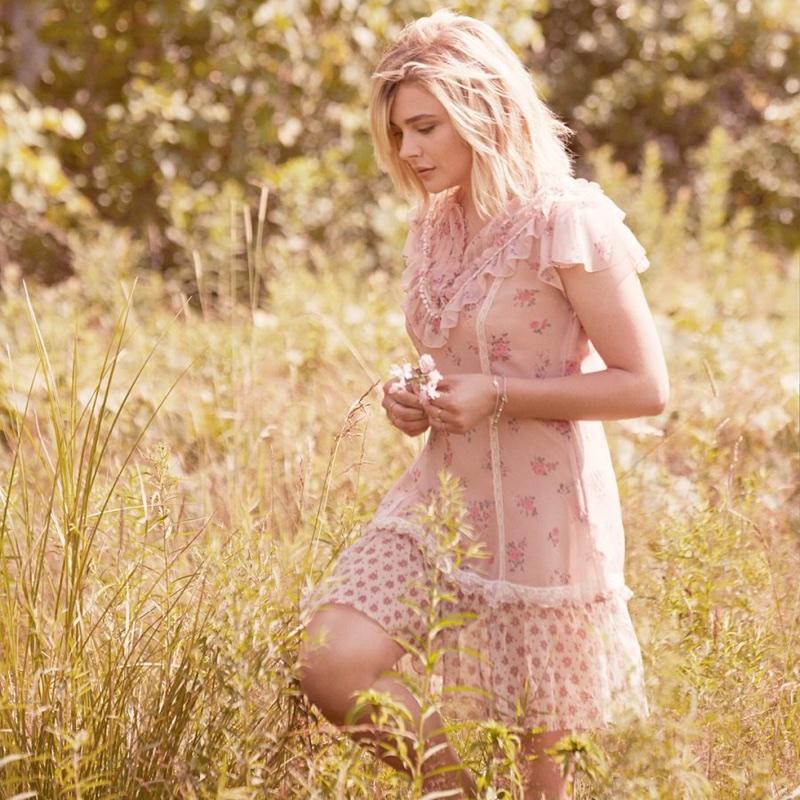 Grace Chloe Floral MoretzCoach Fashion Fragrance Ad Campaign f6g7yYb