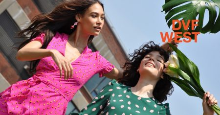 DVF West Brings Sunny Style to Summer '18 Campaign