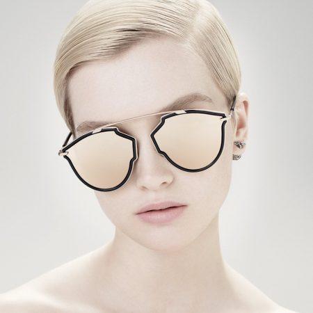 Ruth Bell stars in Dior DiorSoReal eyewear campaign