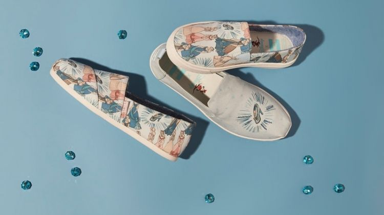 Disney x Toms Cinderella sneaker collaboration