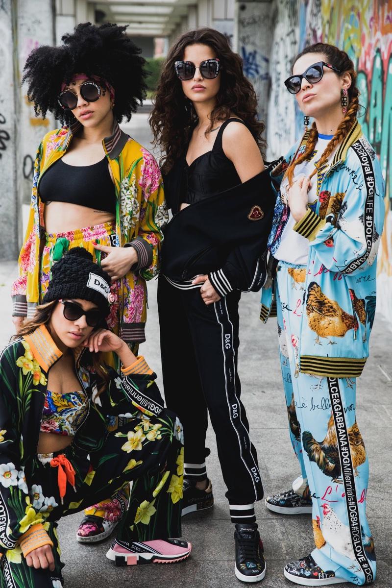 Made for summer 2018, Dolce & Gabbana unveils #DGGraffiti sunglasses campaign