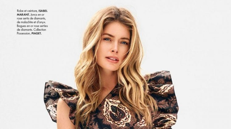 Doutzen Kroes Sports New Season Trends for ELLE France