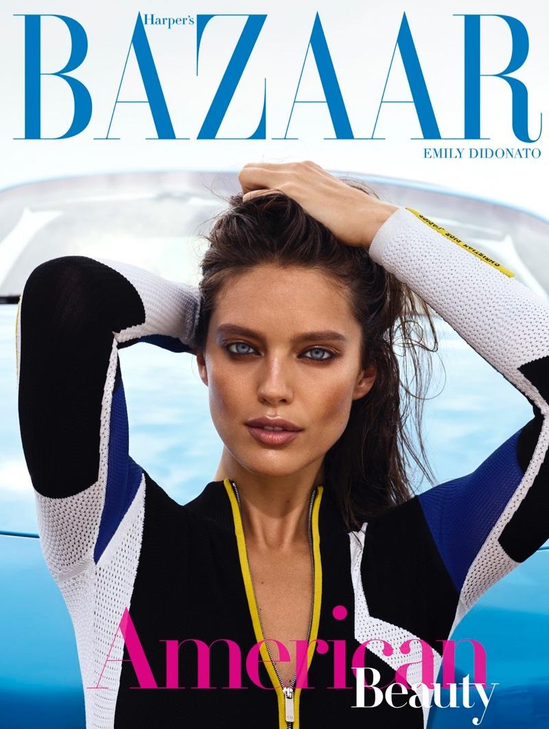 Emily DiDonato Hits the Beach for Harper's Bazaar Greece