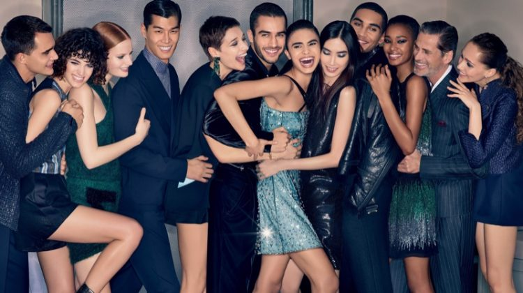 Emporio Armani Throws a Party for Fall 2018 Campaign