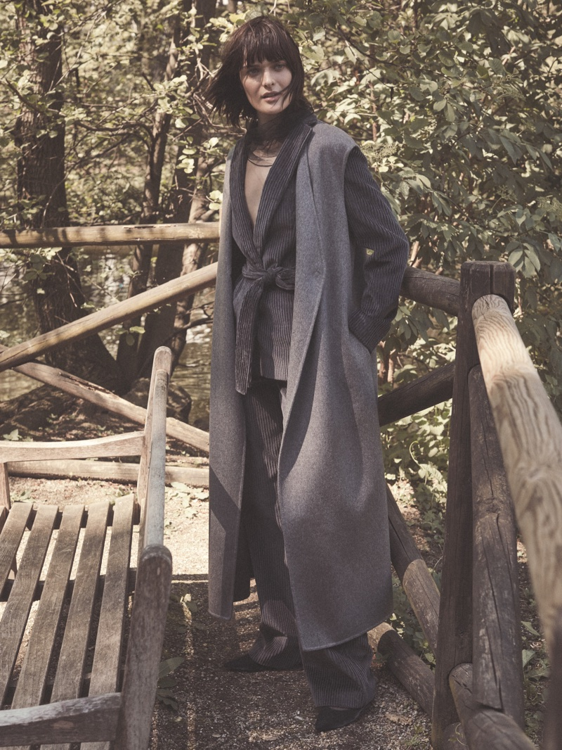 Sam Rollinson layers up in Fabiana Filippi's fall-winter 2018 campaign