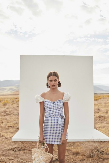 Josephine Skriver is a Farm Girl in For Love & Lemons' Summer Dresses