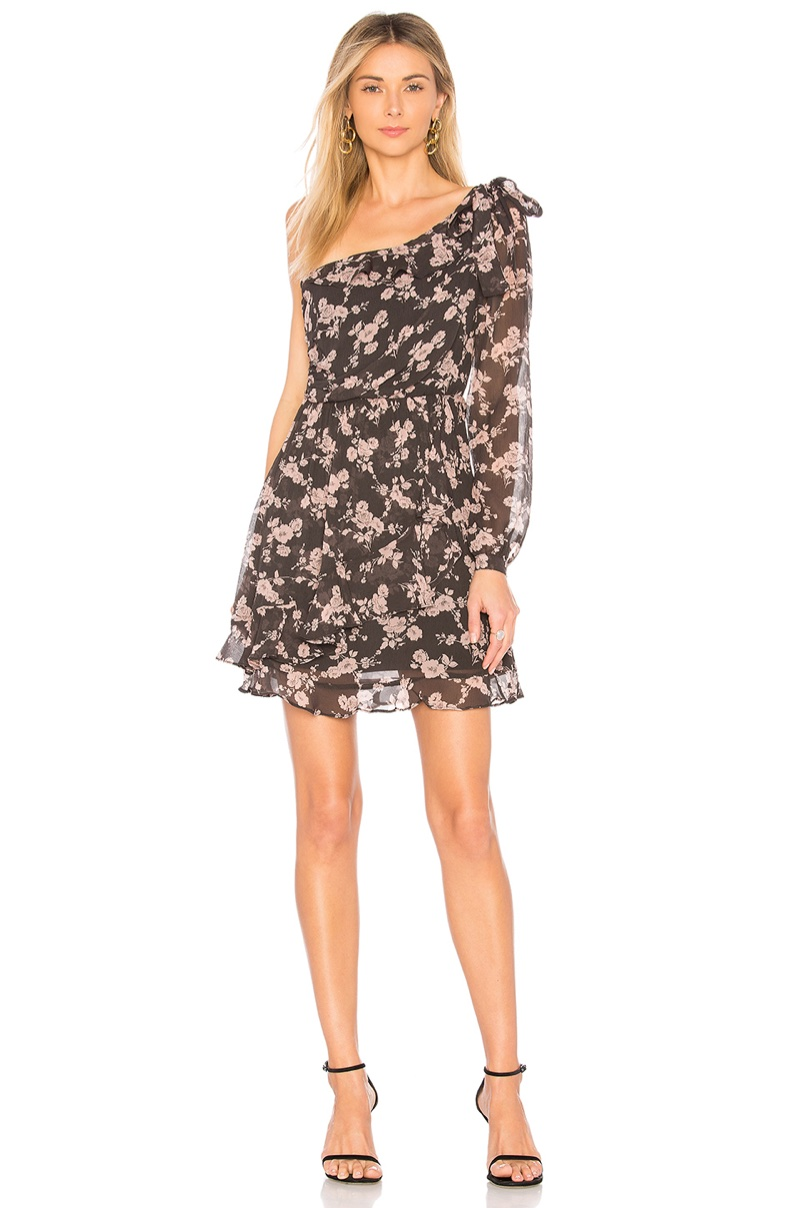 For Love & Lemons Theo One Shoulder Mini Dress $108 (previously $224)