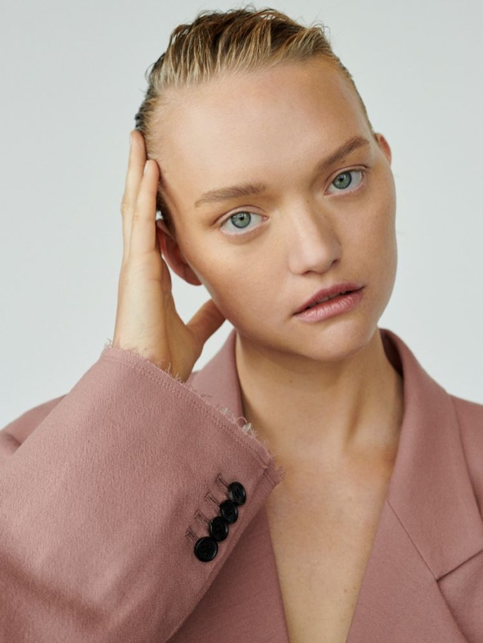 Gemma Ward Unconditional Magazine Suiting Fashion