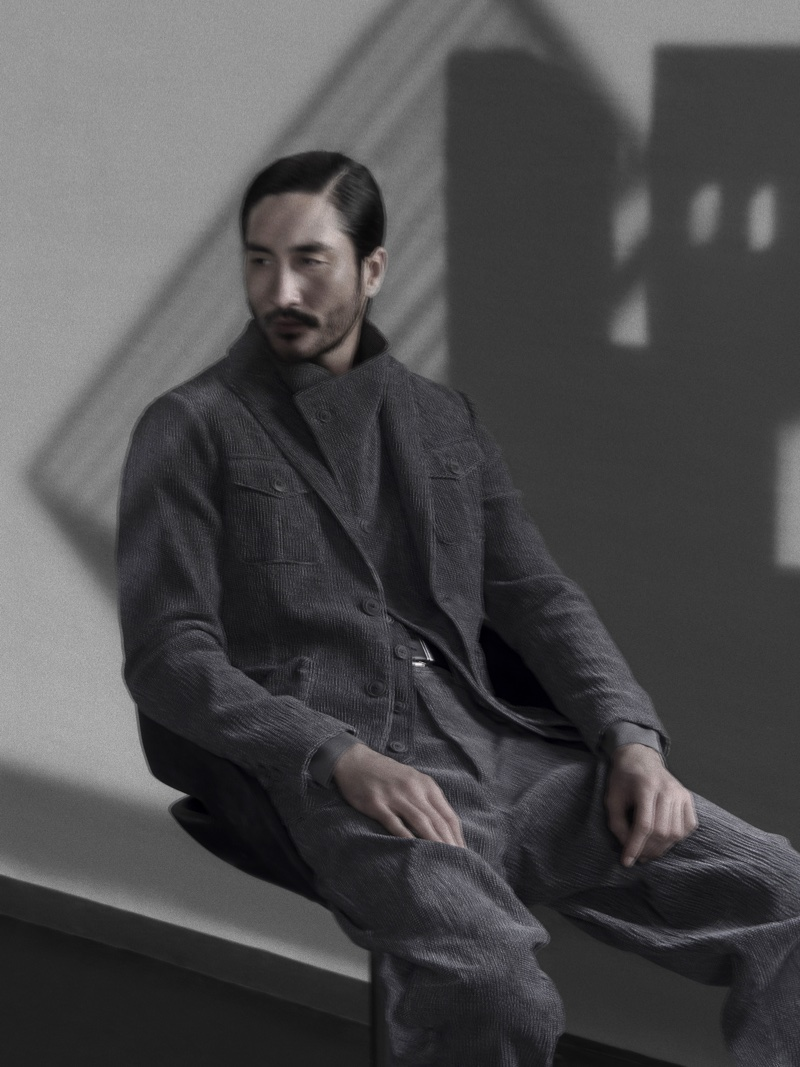 Giorgio Armani taps Tony Thornburg for fall-winter 2018 campaign