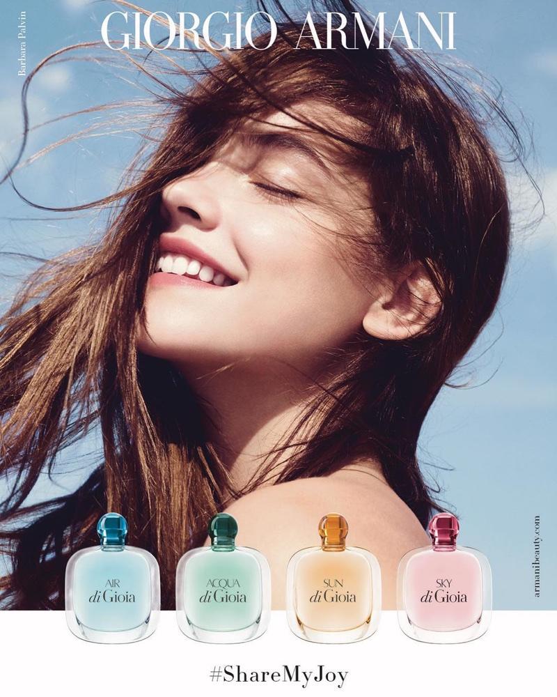 Barbara Palvin stars in Giorgio Armani di Gioia fragrance campaign