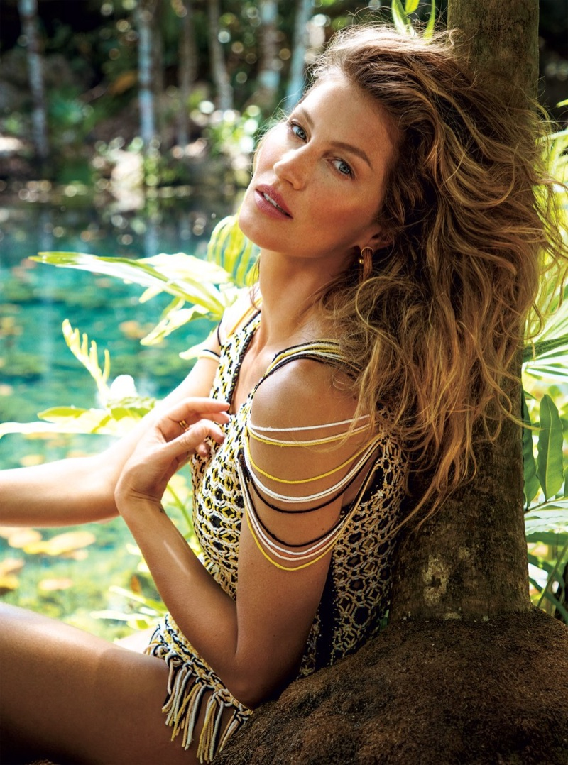 Gisele Bundchen is an Earth Goddess for Vogue