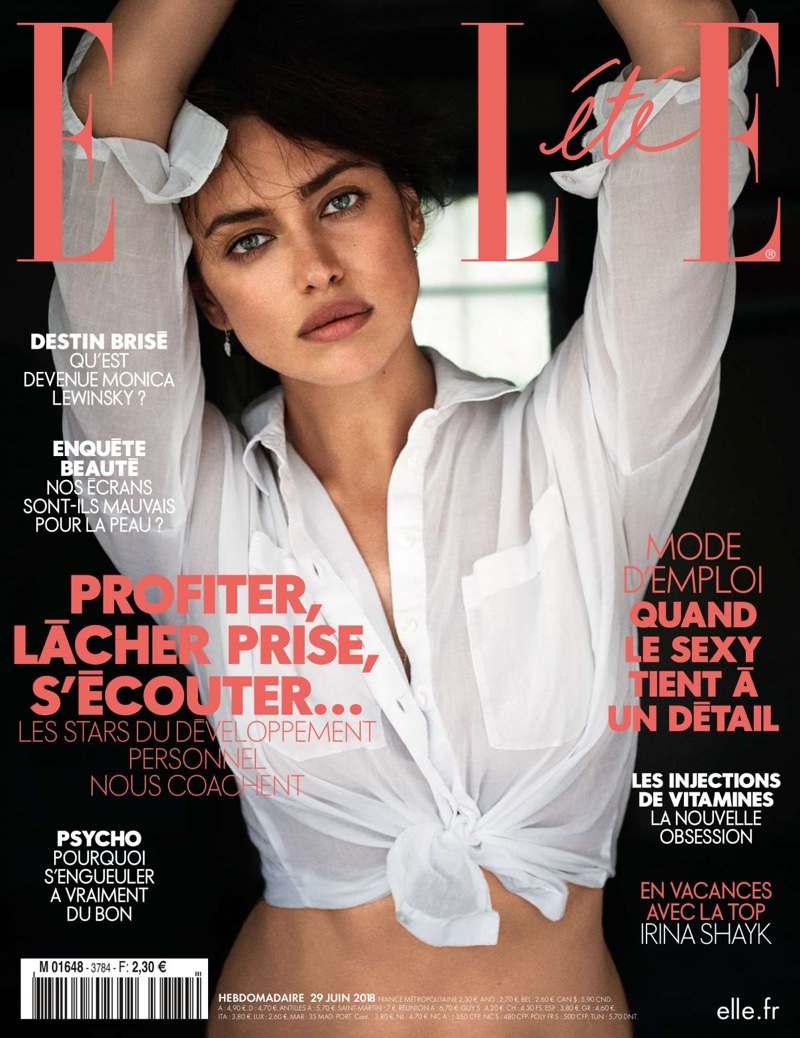 Irina Shayk on ELLE France June 29th, 2018 Cover