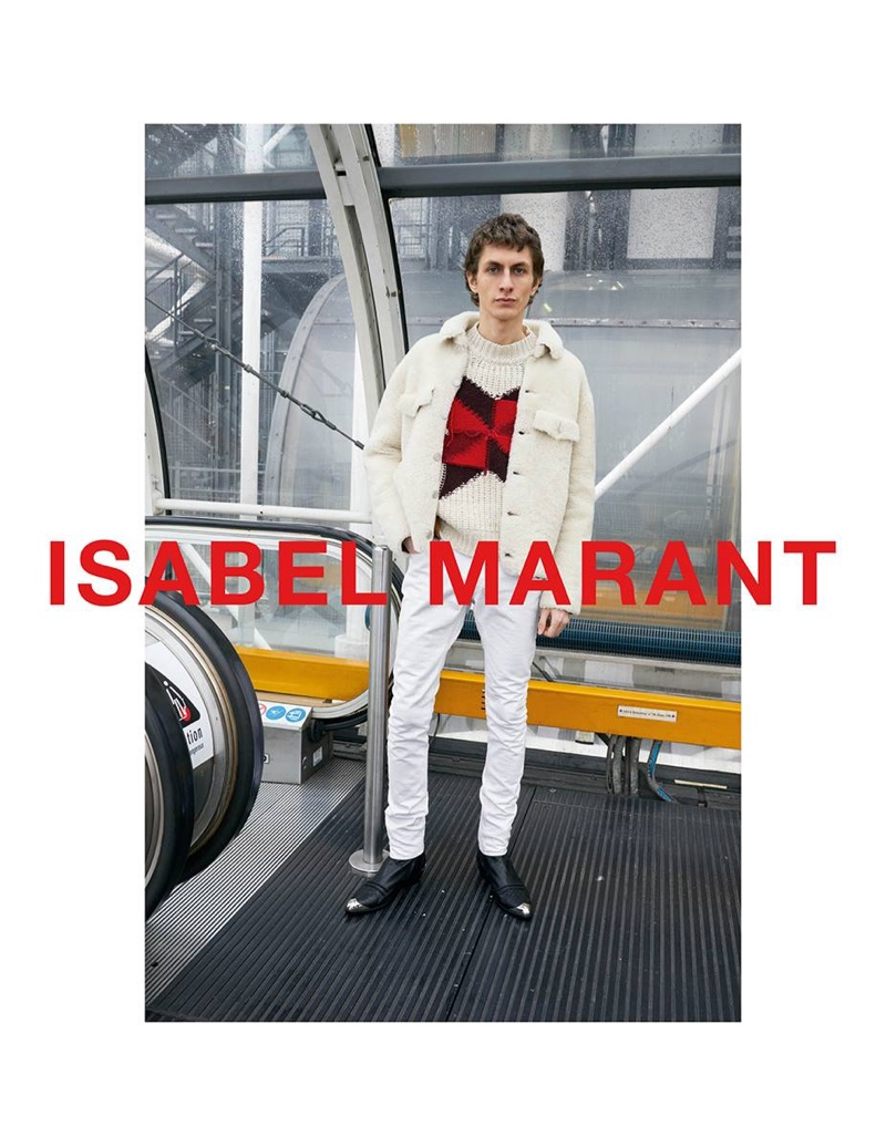Isabel Marant enlists Henry Kitcher for fall-winter 2018 campaign